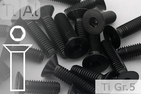 100 St/ück M6 x 8 mm Senkkopfschrauben Edelstahl DIN 7991 Senkkopf Innensechskant A2 V2A VA